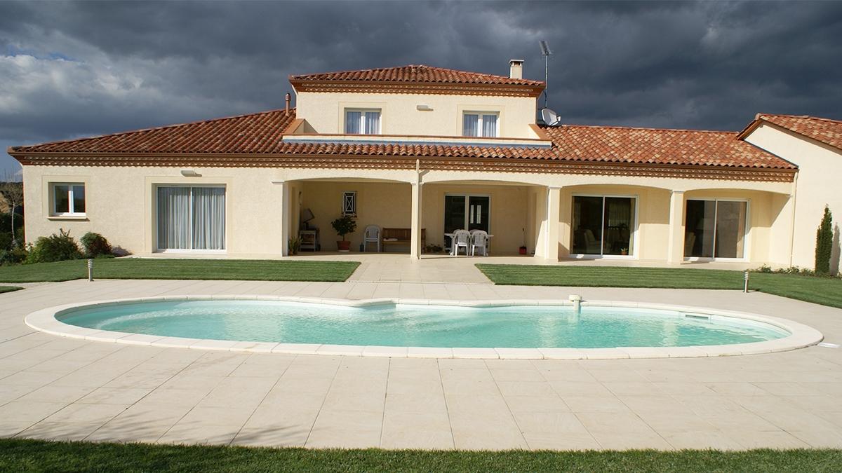 maison traditionnelle BTC, constructeur maison individuelles occitanie, Montauban, Toulouse