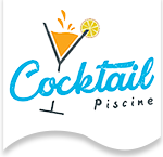 logo cocktail piscine, fournisseur de BTC constructeur de piscine